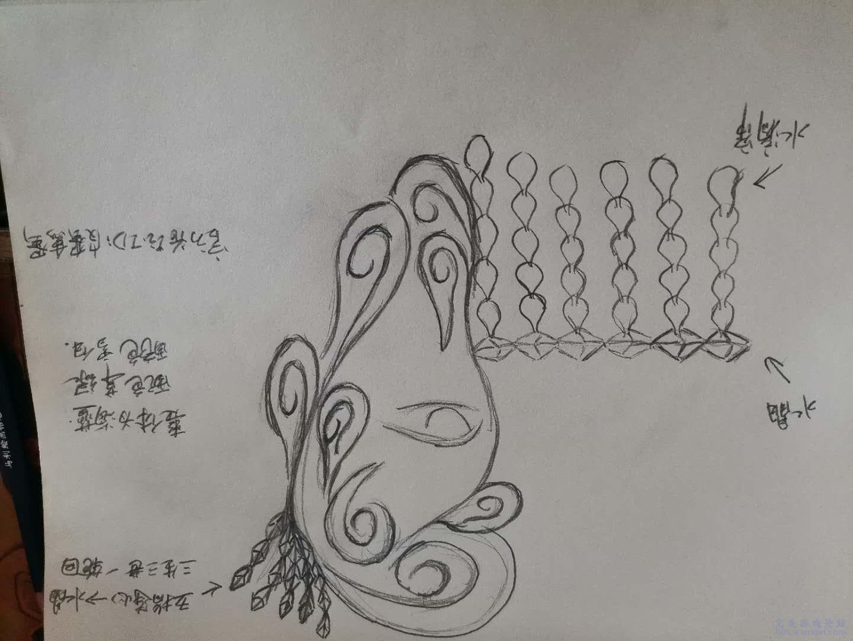 """[活动] 【三千水引 覆面识否】原创面具设计 --- """"泪雨成珠"""" 【三千水引 覆面识否】原创面具设计 --- """"泪雨成珠"""""""